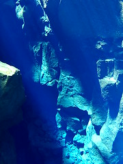 Blue Silfra (Calin Suciu) Tags: silfra silver fissure thingvellir iceland islanda snorkel dive snorkeling blue pure water lava tectonic plates diving scuba goextreme calinsuciu