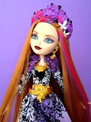 Spring Unsprung Holly O'Hair (honeysuckle jasmine) Tags: holly ohair doll ever after high rapunzel princess dolls