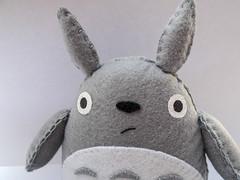 Totoro (El Gato sobre el Tejado) Tags: felt fieltro peluche plush totoro susuwatari manualidades handmade hechoamano crafts