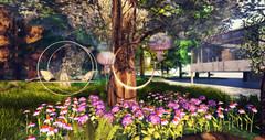 Style1425 (Kayshla Aristocrat) Tags: tspot decocrate revival homeandgarden homedecor outdoorliving outdoor outdoorfurniture flowers grass swing anc kayshlaaristocrat crimsons photography blogger trompe loeil kite fanatik