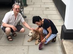 Goodbye Max (jovike) Tags: animal dog espe london man me street woman