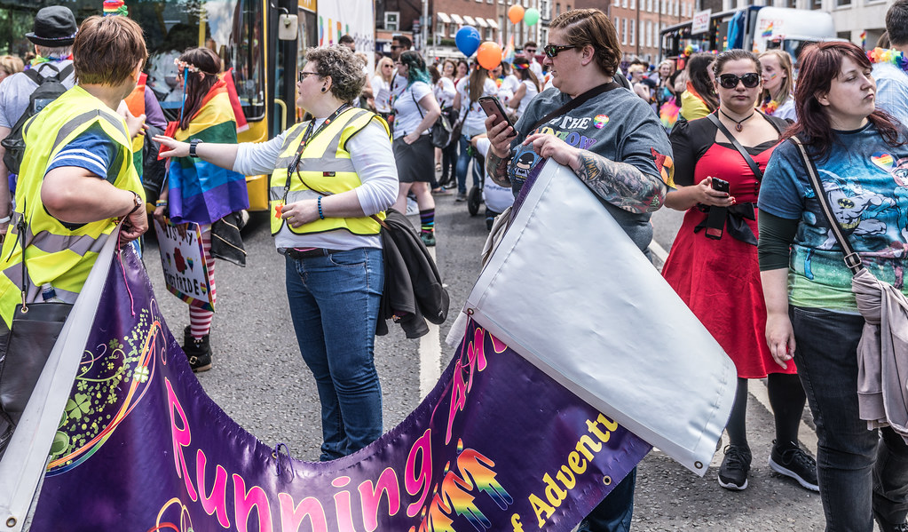 LGBTQ+ PRIDE PARADE 2017 [STEPHENS GREEN BEFORE THE ACTUAL PARADE]-129856