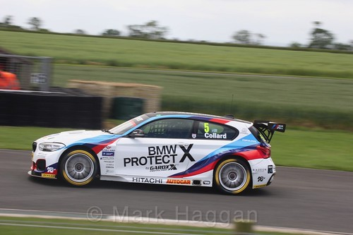 Rob Collard in BTCC action at Croft, June 2017