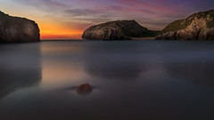 Long Exposure Sunset (Koldobika Arriaga) Tags: sea seascape landscape sunset sunrise beach sky longexposure water mar paisaje playa marea atardecer amanecer color ilunsentia egunsentia paisajea itxasoa