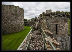 Outer Northern Walls (veggiesosage) Tags: angelsey beaumaris beaumariscastle wales aficionados gx20 castle