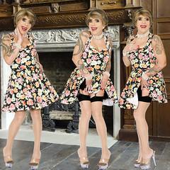 home14884-86 (Ann Drogyny) Tags: shoes legs heels crossdress crossdresser crossdressing cd tv tg ts transvestite transgender transsexual tranny tgirl glamour pinup mature cute sexy stockings nylons suspenders garters