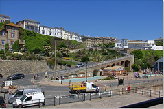 Hairpin corners on Shore Hill, Ventnor, Isle of Wight. (Bristol RE) Tags: ventnor isleofwight shorehill hairpin hill