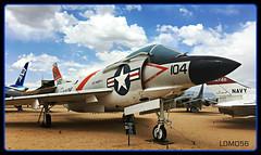 McDonnell F3H Demon (LOMO56) Tags: mcdonnellf3hdemon flugzeuge pima jagdbomber usairforce modernekampfjets modernekampfflugzeuge tucsonarizona tucson f3hdemon usnavyflugzeuge f3 allwetterjagdflugzeuge