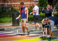 2017.06.09 DCRainbowCrosswalks, Washington, DC USA 6221