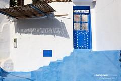 "MARRUECOS // ""La última sombra"" (Francisco Romero Wild Photography) Tags: azul marruecos chefchaouen"