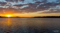 Medeiros Island - Sunrise (Cristofer Martins) Tags: sunrise river island nature landscape landscapes ilha guaraqueçaba medeiros pôrdosol água céu mar lago paisagem barco absolutelystunningscapes sunrays5 coth5