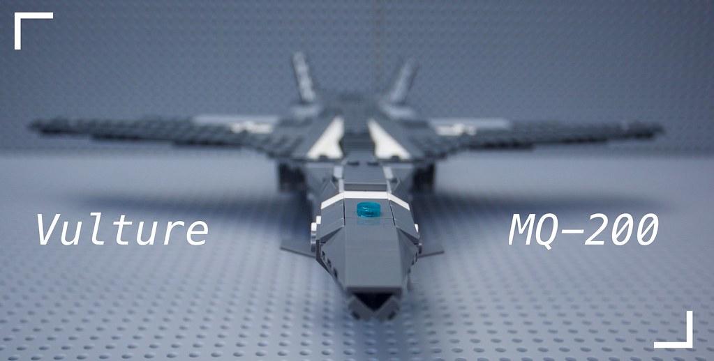 Vulture Class Attack Drone Achintya Prasad Tags Lego Ucav Military Micro