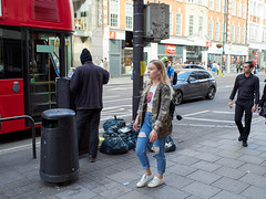 20170701T17-13-58Z-P7010178 (fitzrovialitter) Tags: eat cafe vagrants tramps food dumped jeans waste peterfoster fitzrovialitter camden westminster rubbish litter dumping flytipping trash garbage london urban street environment streetphotography westend centrallondon documentary authenticstreet captureone littergram geosetter exiftool olympusem1markii voigtländer175mmf095 dumpedfood sandwiches stphotographia