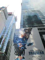 Valerian and the City of a Thousand Planets Billboard Poster 7433 (Brechtbug) Tags: valerian city thousand planets billboard poster times square nyc 2017 french science fiction comics series from 1967 valérian laureline written by pierre christin illustrated jeanclaude mézières film movie directed luc besson new york 06212017