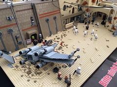IdS@LLD Star Wars Tage 2017_57 (Bricknator) Tags: imperium der steine angus mcinnes lego star wars rogue one tatooine landingcraft sentinel shuttle ids legoland tage