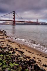 Golden Gate Bridge (AgarwalArun) Tags: sonya7m2 sonyilce7m2 sony sanfrancisco goldengatebridge goldengate bayareacalifornia iconicbridge pacificocean ocean bridge marincounty scenic views landscape reflections fog marinelayer crissyfield