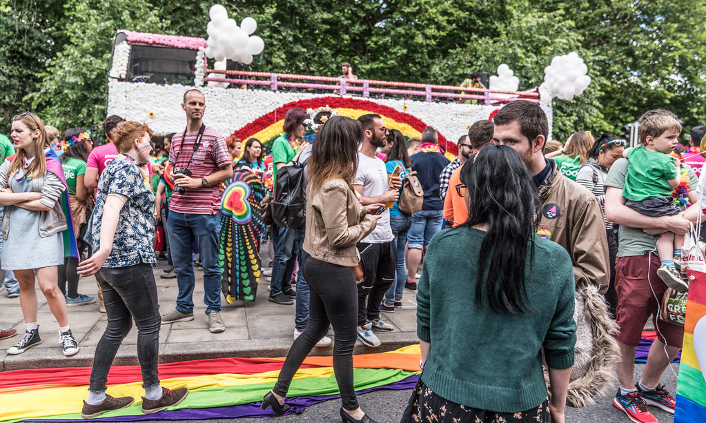 LGBTQ+ PRIDE PARADE 2017 [STEPHENS GREEN BEFORE THE ACTUAL PARADE]-129797