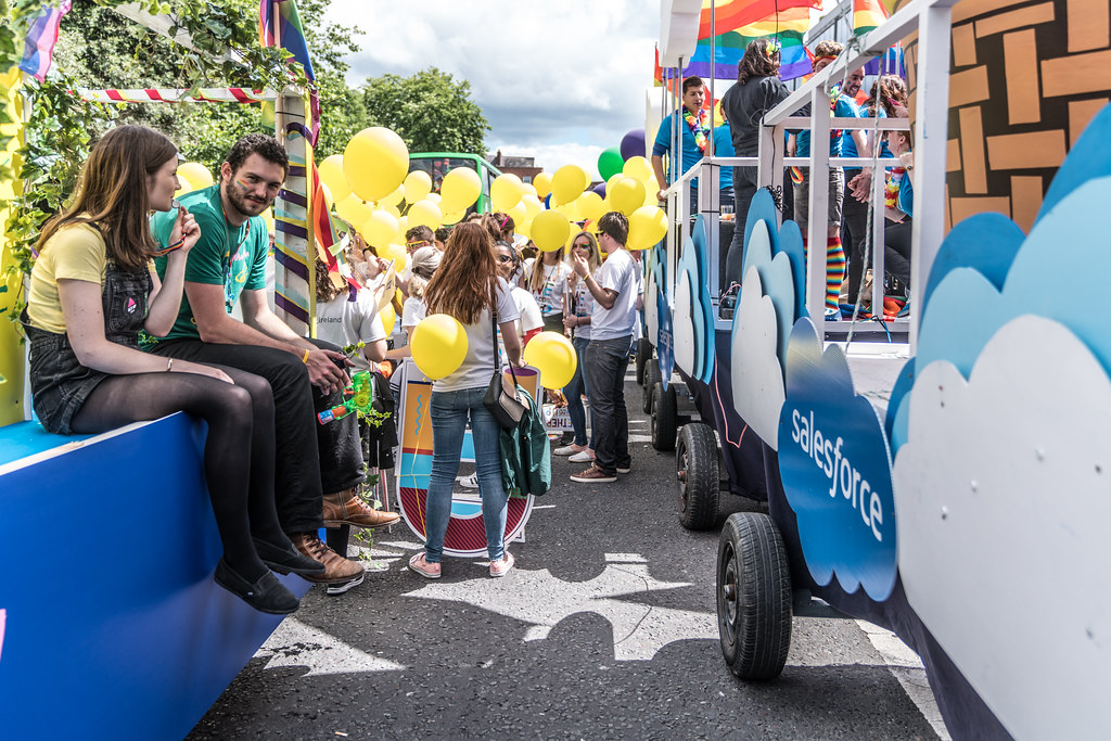 LGBTQ+ PRIDE PARADE 2017 [STEPHENS GREEN BEFORE THE ACTUAL PARADE]-129819