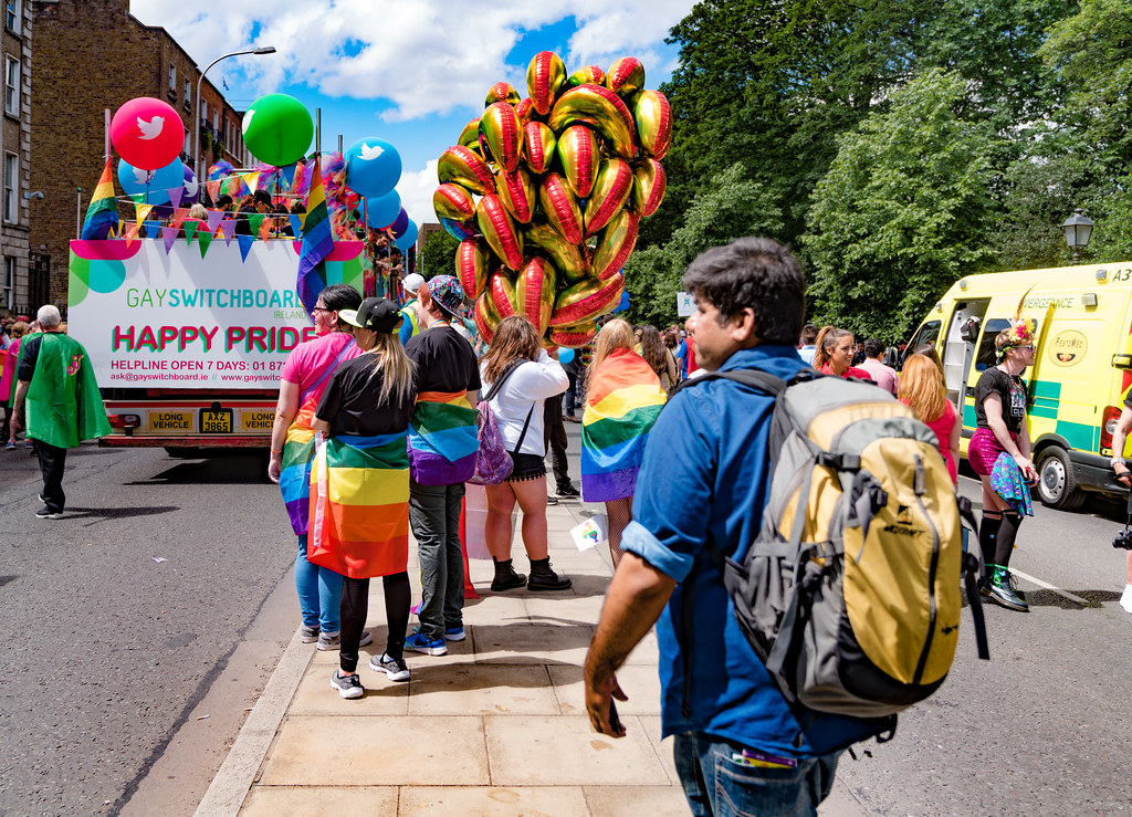 LGBTQ+ PRIDE PARADE 2017 [STEPHENS GREEN BEFORE THE ACTUAL PARADE]-129942
