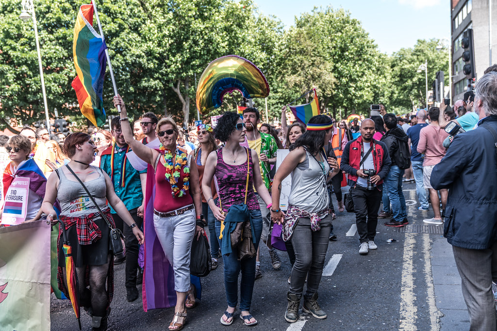 LGBTQ+ PRIDE PARADE 2017 [ON THE WAY FROM STEPHENS GREEN TO SMITHFIELD]-130053
