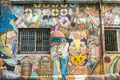 Harry_34573,台南,新美街,125巷,彩繪巷,壁畫,彩繪,許荷西,繪畫,創作,米街,昔日米商聚落,稻米加工街,街道,巷弄,台南市,台南舊城區,社區營造,Tainan (棟樑‧Harry‧黃基峰‧Taiwan) Tags: 台南 新美街 125巷 彩繪巷 壁畫 彩繪 許荷西 繪畫 創作 米街 昔日米商聚落 稻米加工街 街道 巷弄 台南市 台南舊城區 社區營造 tainan 風景攝影 數位攝影 圖庫 黃基峰 harryhuang 台灣 臺灣 taiwan nikon d800 電子郵件信箱hgf78354ms35hinetnet 縮圖adobergb色域