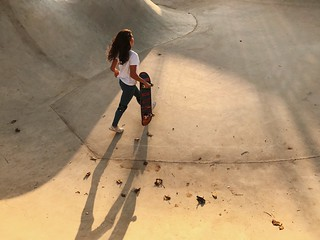 Two People Full Length High Angle View Day Young Women Young Adult Real People Shadow Togetherness Standing Women Outdoors Friendship Skateboard Park People Adult Adults Only The Street Photographer - 2017 EyeEm Awards מייסקייט IPhone7Plus מייאייפון7 Shot