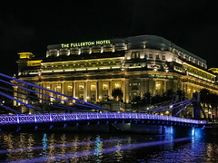 The Fullerton Hotel (yc4646) Tags: architectural architecture building commercialbuilding ecology ecosystem edifice edifices environment environmentalism hotel light lighting nature night river scenery structures water