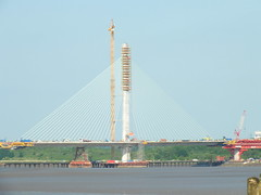DSCF0705 Mersey Gateway Bridge (Anand Leo) Tags: merseygatewaybridge rivermersey widnes halton runcorn
