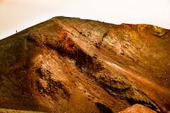 Man on Mars (Dave G Kelly) Tags: 2017 holidays italy mountetna mountain volanco