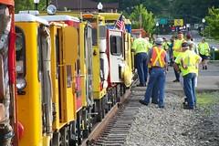Elkins WV - 100_3277 (primemover88) Tags: speeder railcar narcoa appalachian elkins wv west virginia durbin greenbrier valley railroad excursion