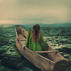 vessel (brookeshaden) Tags: brookeshaden fineartphotography fineart conceptualart surrealism selfportrait iceland lavafields brazil abandonedboat