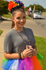 She came prepared for the parade (radargeek) Tags: okcpride okc pride oklahomacity parade 2017 tutu