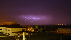 Rayo 4 (berserker170) Tags: rayo ray relampago lightning tormenta strorm eos extremadura 550d noche night flickrexploreme