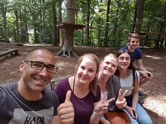 Echanges jeunes de Beauvais Witten, juin 2017 (blog46beauvais) Tags: echanges francoallemend blog46 accrobranche