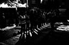 Night prayer (A. Yousuf Kurniawan) Tags: prayer night nightphotography dark shadow streetphotography streetlife streetphoto blackandwhite monochrome silhoutte lowkey islam muslim