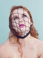 Trapped (Motionsharp - Photography by Patti Farfan) Tags: pattifarfanphotography motionsharpphotography portraitofawoman portraiture curlyredhair curlyhairbeautifulredhead redhead ginger portraitphotographer redheadmodel