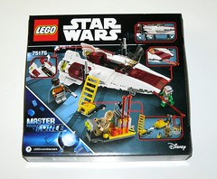 lego 75175 star wars a-wing starfighter rogue 1 packaging 2017 misb b (tjparkside) Tags: lego 75175 1 star wars wing awing starfighter 3 three minifigure minifigures mini fig figures figure lando calrissian general rebel engineer pilot 2017 episode vi rotj return jedi 6 six rogue one r1 box packaging rebellion 358 pc pieces piece projectile projectiles missile missiles blaster weapon weapons