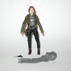 jyn erso - sergeant jyn erso - jedha star wars the black series 6 inch action figures 2016 red packaging the force awakens #22 rogue one a (tjparkside) Tags: sergeant jyn erso jedha rebel star wars sw tbs black series 6 six inch action figure figures hasbro 2016 rogue 1 one story alliance number 22 twenty two red package disney scarf cloak hood blaster holster jacket pistol weapon r1 packaging force awakens