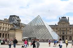 The Louvre - glass pyramid (natalia.bird_nerd) Tags: pyramid glass glasspyramid paris france thelouvre