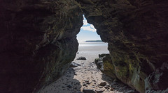 Inside...Looking Out (Mac ind Óg) Tags: spring beach landscape cave montrose angus lunanbay scotland holiday walking