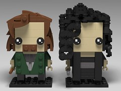 Sirius + Bellatrix (fxandrw) Tags: siriusblack bellatrixlestrange harrypotter lego