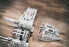Snowspeeder trying to give scale for x-wing under construction (drakmin) Tags: lego eurobricks starwars xwing incom t65 toy legophoto jedi moc star wars wip project design engineering