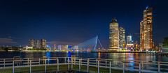 Panorama Rotterdam Wilhelminapier (Evert Buitendijk Fotografie) Tags: rotterdam katendrecht wilhelminapier nederland holland skyscraper sony erasmusbrug world port center nodalninja panorama cityskape rijnhavenbrug harbour