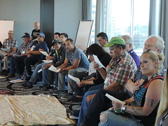 DSCN2818 (United Steelworkers - Metallos) Tags: usw unitedsteelworkers union aboriginal workshop education seminar teaching sharing solidarity labour canada tradeunions labor indigenous members syndicatdesmétallos edmonton workers