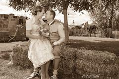 Wedding - sepia (thx for 4M views - pego28) Tags: 2017 volkersdorf erlangen germany wedding sepia hochzeit stroh ländlich
