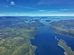 Broughton Archipelago (otterdrivernw) Tags: iphone pacificislands pnwislands pnw islands broughtonarchipelago insidepassage aerialphotos aerials