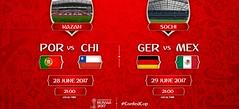 Copa Confederaciones: Listos los duelos por un boleto a la Final (conectaabogados) Tags: boleto confederaciones copa duelos final listos