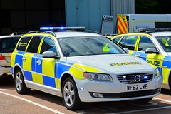 WF63 LWE (S11 AUN) Tags: devon cornwall police volvo v70 d5 4x4 anpr video equipped rpu roads policing unit traffic car 999 emergency vehicle wf63lwe