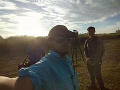 On the field-filming migratory birds in Langkawi Island