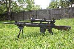 SR 25 (Rande Archer) Tags: sr25 sr 25 usmc sniper rifle designated marksmans dmr knights armament ar10 ar 10